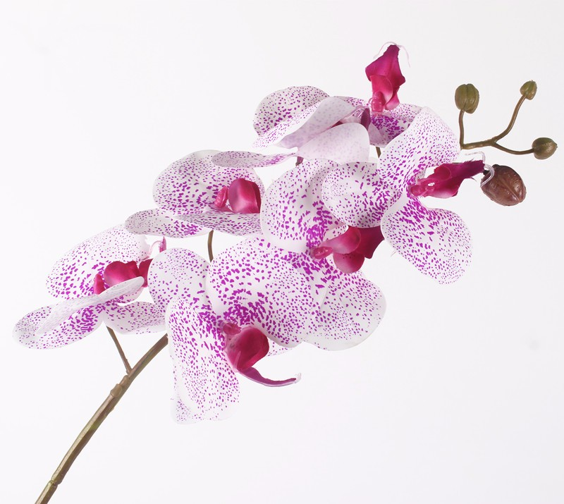 Artificial Orchid Flowers Real Touch Artificial Butterfly Orchid flores artificiales Wedding decoration home Festival Decoration (40)