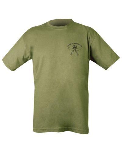 Homme militaire outdoor royal gurkha rifles 100/% coton vert t-shirt tshirt