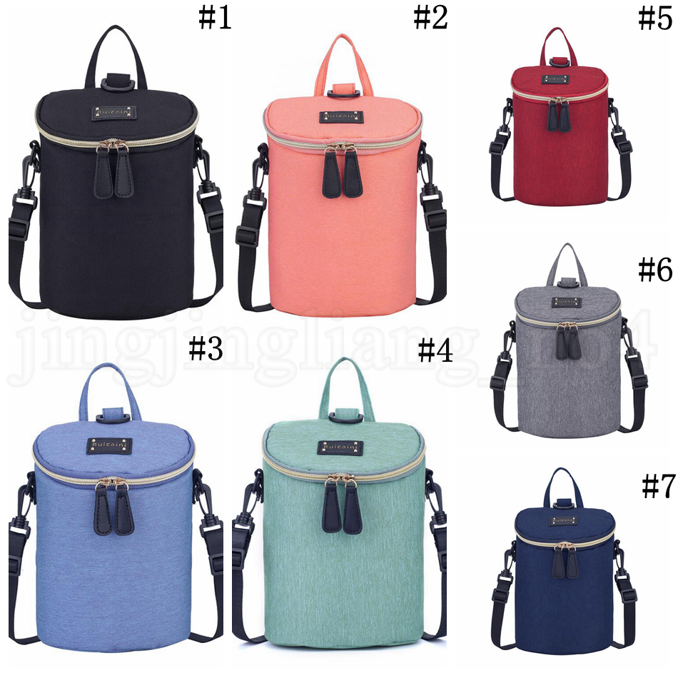 Baby Diaper Backpack Waterproof Bottle Heat Preservation Insulation Maternity Nappy Bag Outdoor Mommy Storage Bags OOA5768