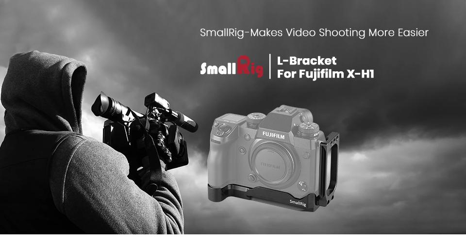 L Plate Placa L para Fujifilm X-H1-2178 SMALLRIG X-H1 L Bracket