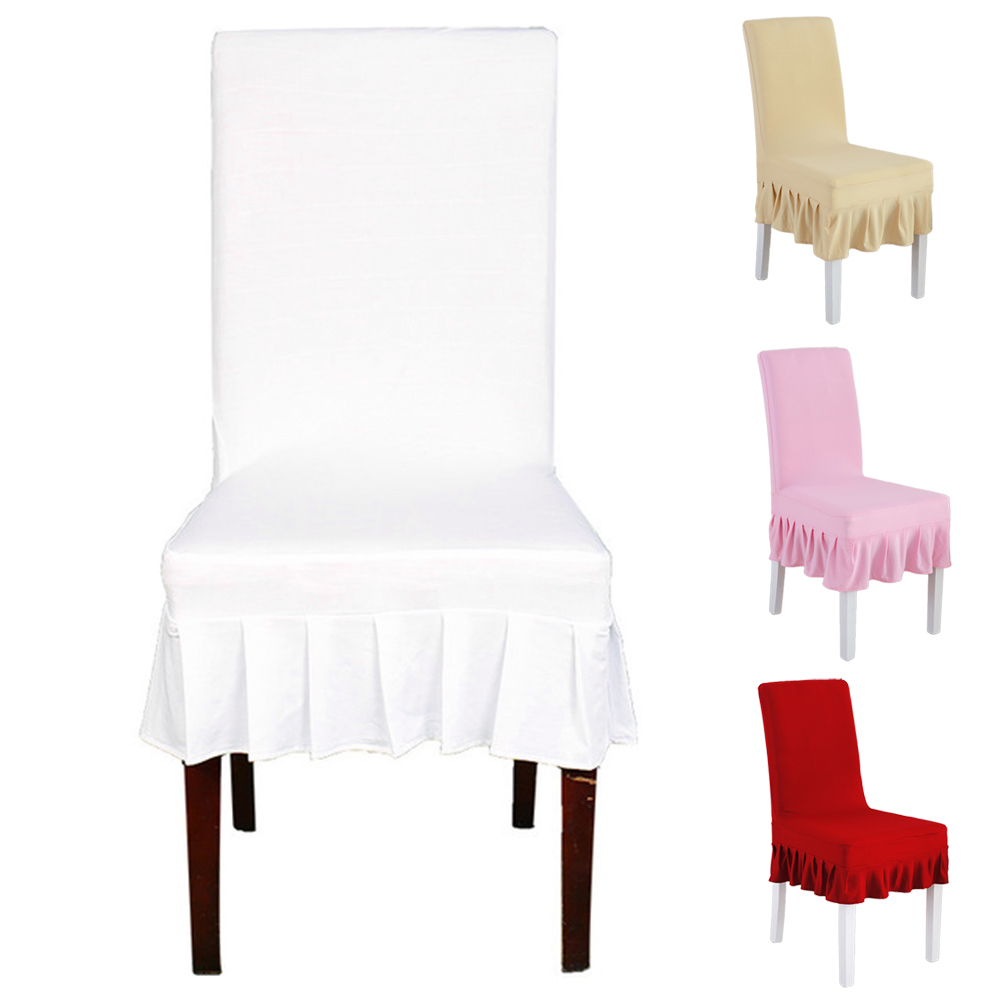 Universal Stretch Chair Cover For Wedding Party Banquet Event Hotel Home Dining Chair Covers Restaurant Seat Protector