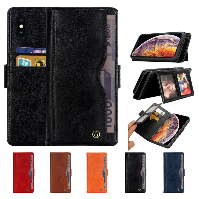 Luxury Flip Leather Stand Case for iPhone XS Max Case Wallet Book Card Phone Cover for iPhone X XR 10 Xsmax Cases Coques Fundas (2)