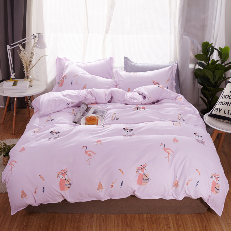 Classic Black White Bed Linens EURO Quilt Cover Flat Sheet Pillowcase Adult Kids Bedding Set Duvet Cover Twin Full Queen King