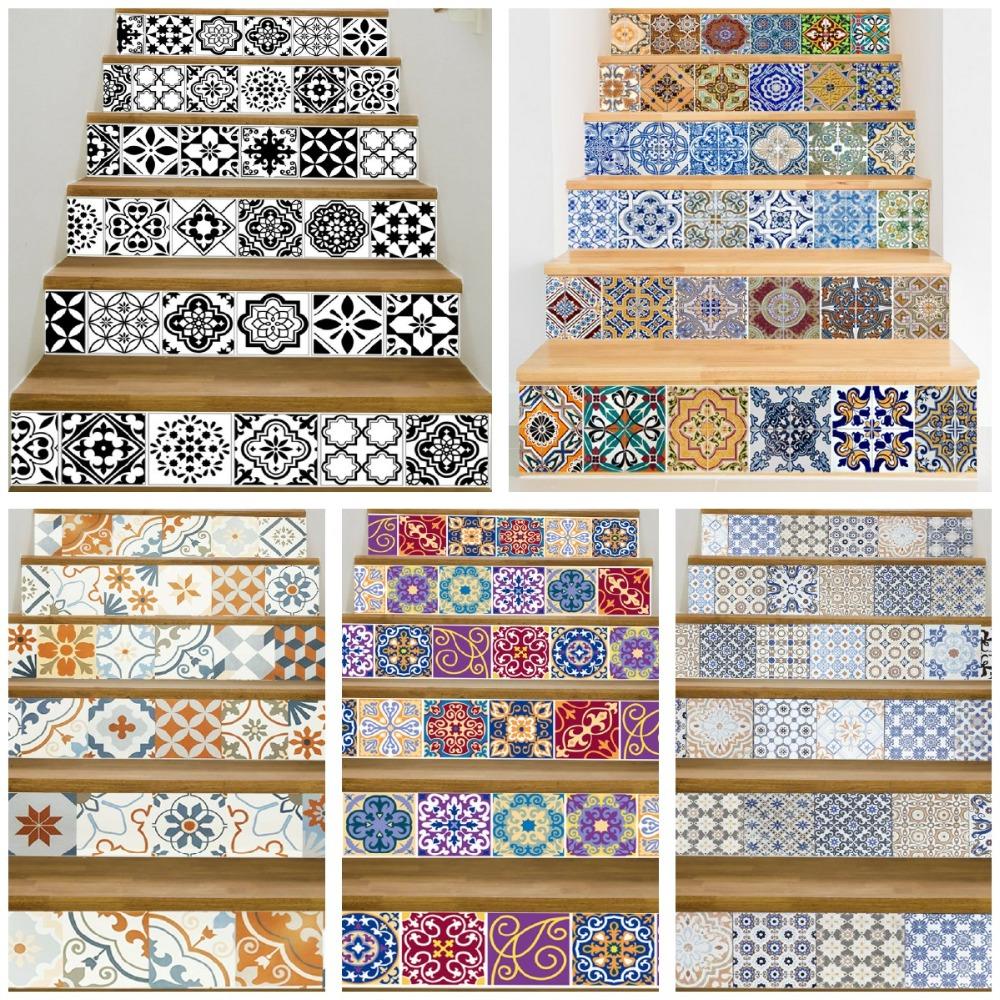 Come Decorare Piastrelle Cucina 17 adesivi murali in ceramica a parete con piastrelle a mosaico design  adesivi in ceramica autoadesivi a parete in pvc impermeabile per la casa