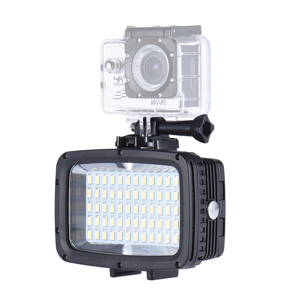 wholesale Ultra Bright LED Video Light 1800LM 3 Modes Waterproof 5500K Fill-in Light Photo Lamp for GoPro Canon Nikon Sony