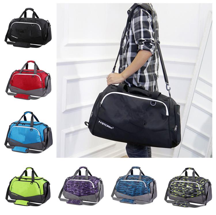 Unisex U&A Duffle Bag Travel Handbag Under Waterproof Nylon Shoulder Tote Bags Large Capacity Handbags Outdoor Sports Bag Packsack Free Ship
