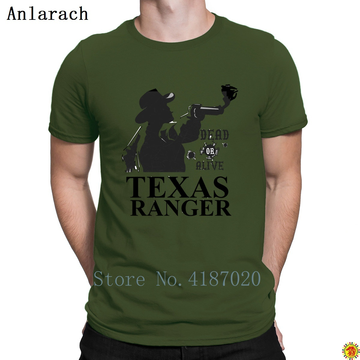 Texas Ranger T-Shirt Breathable Designs Stylish T Shirt For Men Top Tee S-3xl Summer Novelty