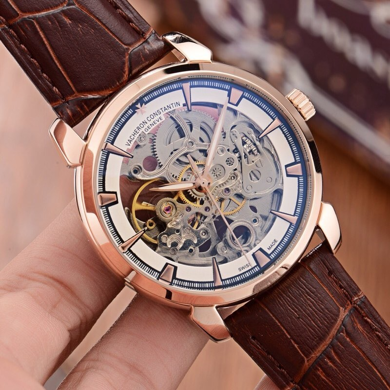 2018 Watch Type: Fine Men's Watch Strap: Genuine Leather Strap Movement: Top Automatic Mechanical Movement