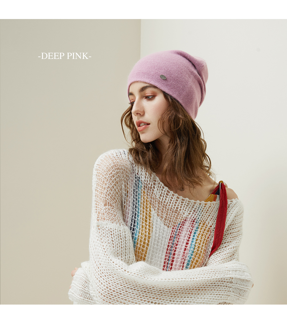 Winter Hats For Woman 2018 New Beanies Knitted Solid Cute Hat Girls Autumn Female Beanie Warmer Bonnet Ladies Casual Cap 8 Color (17)