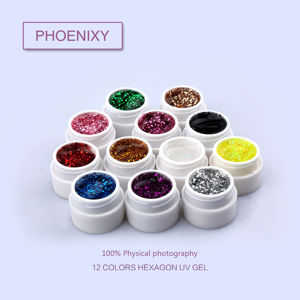 wholesale Phoenxiy Factory Supply UV/LED Soak Off Professional Nail Salon UV Gel Paint