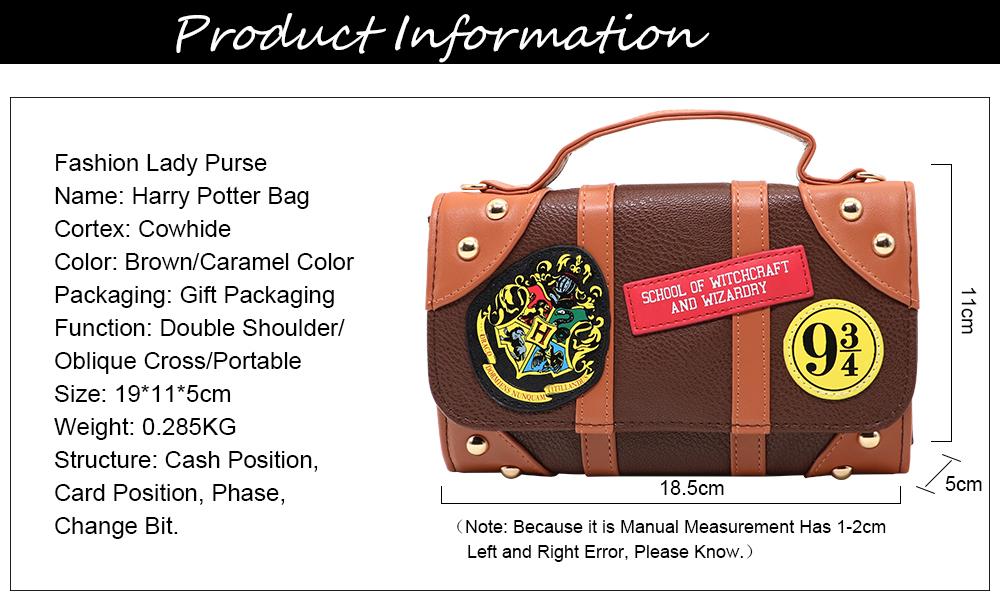 Harry Potter Single Shoulder Bag (2)