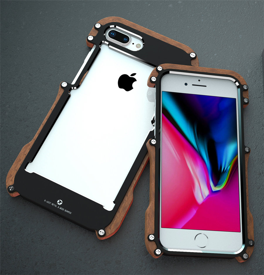 coque aluminium iphone 8 plus