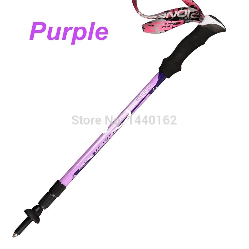 tp028 purple 1 Nordic walking sticks hiking sticks alpenstock walking cane Trekking poles mountain climbing sticks hiking pole.jpg