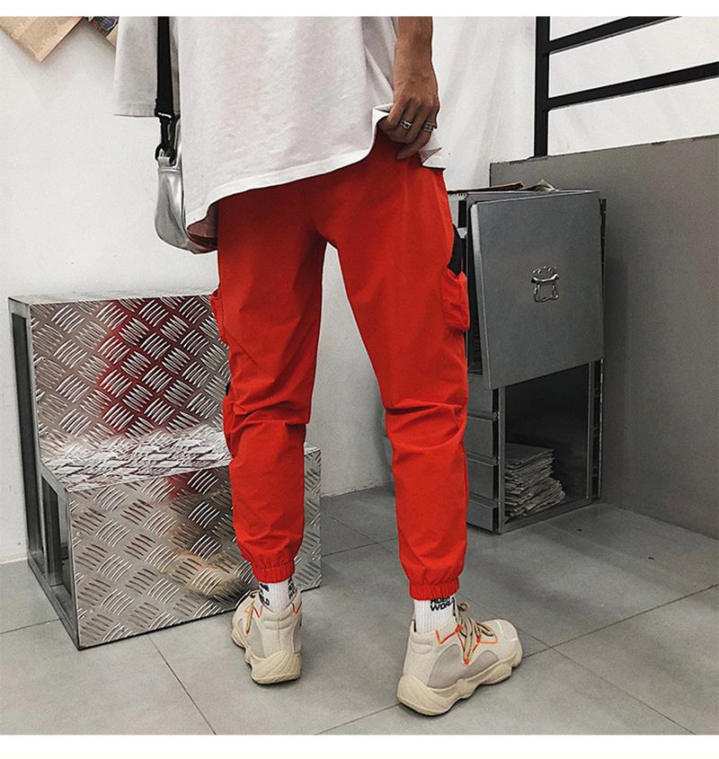 Pocket Tactical Fashions Men Hip Hop Pants Man (15)