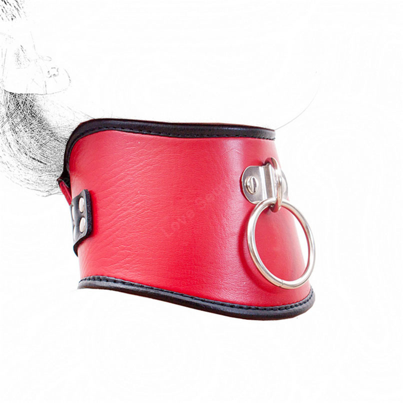 Sex Products for Couples PU Leather Sexy Necklace Erotic Chastity Neck Collar Fetish Choker Bondage Adult Games Women Sex Toys