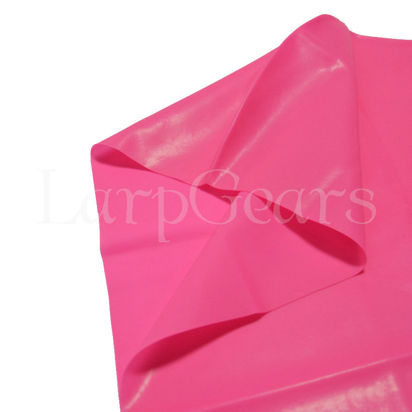 latex skirt pink-1.6