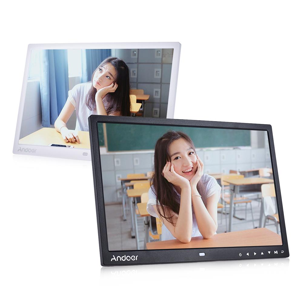 "wholesale 13"" LED Digital Photo Frame Desktop Album Display MP4 Video MP3 Audio TXT eBook Clock Calendar w/ Infrared Remote Control"
