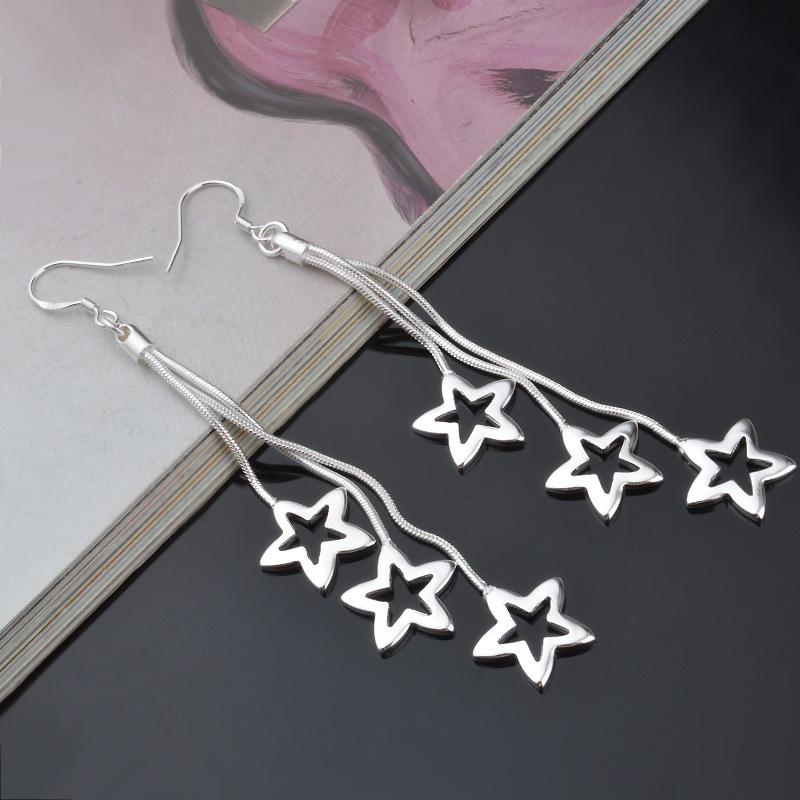 Brincos europeus da jóia do estilo da mulher presente de alta qualidade da forma da produção