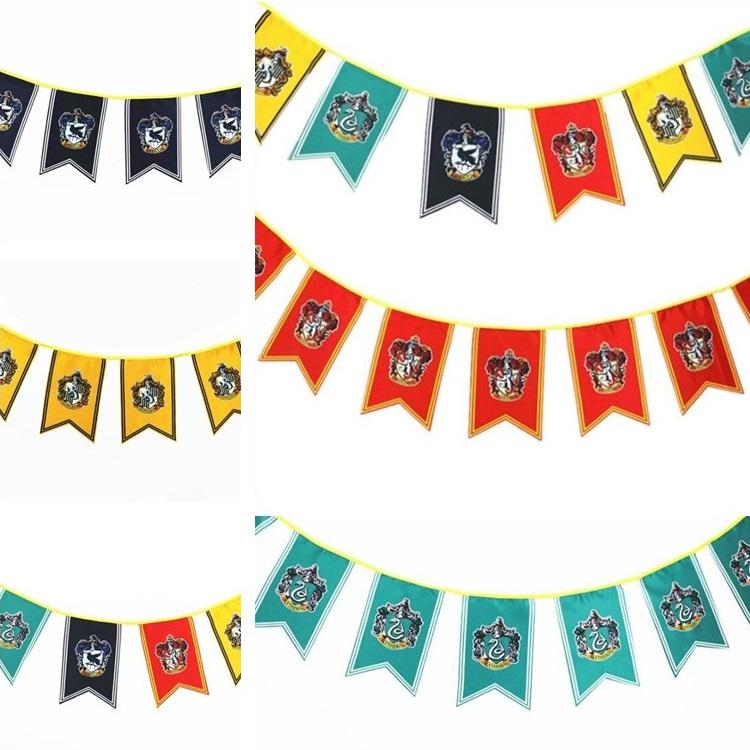 Film Harry Potter Cos Banner Hot Holiday Dekorationen Aktivitäten Bodenanordnung Party Flags Garden Banner Fabrik Großhandel T7I388