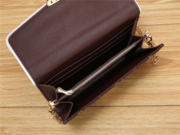 A mais recente carteira fivela barato famoso V marca pequeno saco quadrado Bolsas de grife Europa e América Senhoras bolsas de luxo Moda carteira Ou