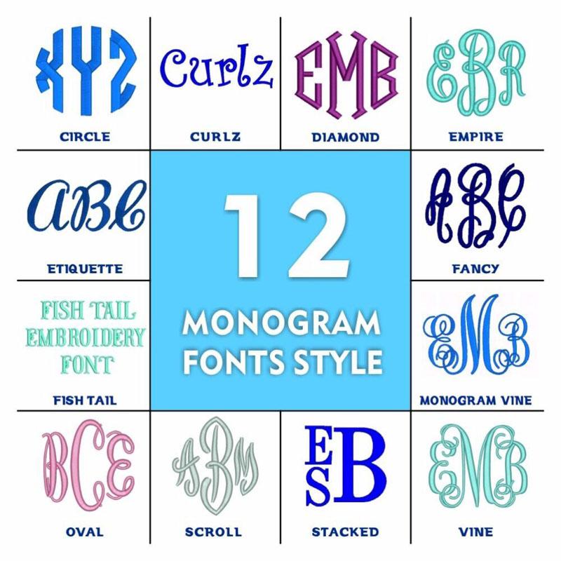 new-monogram fonts style