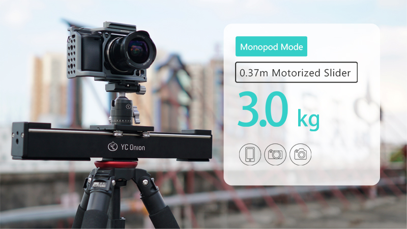 YC ONION Aluminum Motorized Camer Slider App Bluetooth Control Stable Smooth Slider Camera With Motor For Photography DSLR Video (15)