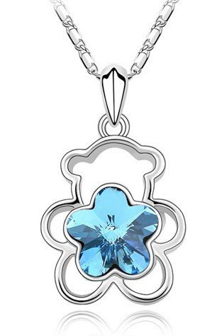 Free delivery + mixed wholesale! Crystal pendant, fashion necklace,make with Swarovski Elements.