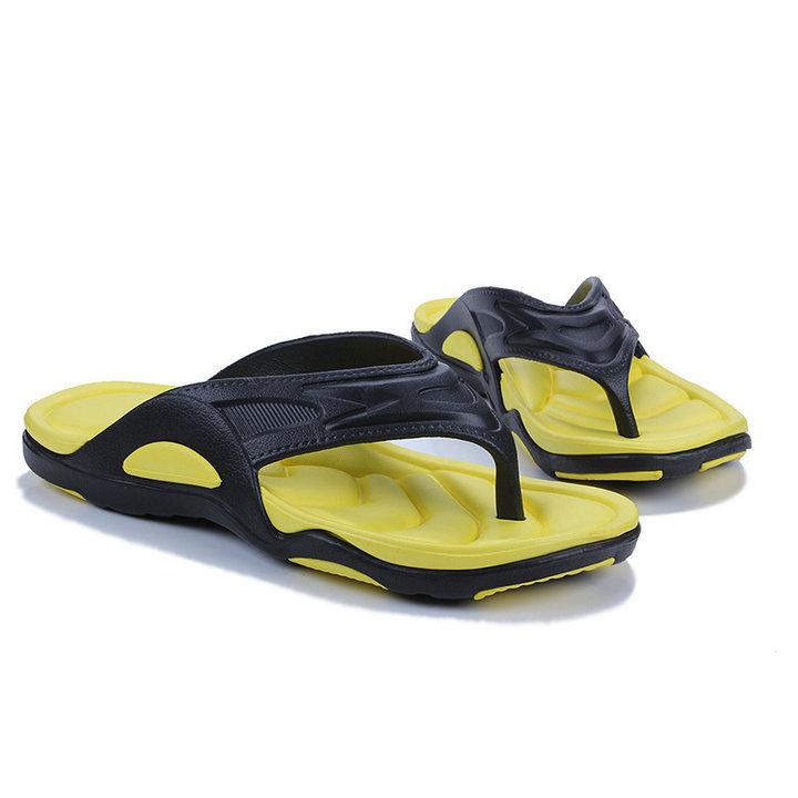 High Quality Quick Drying Soft Summer Sandals Beach Flip Flop Bath Skidproof Slider Casual Flat Eva Slipper (5)
