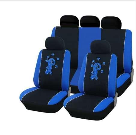 Car Accessories NETILGEN Boho Style Car Head Rest Covers 2pcs Set Front Seat Headrest Cover Durable Elastic Polyester
