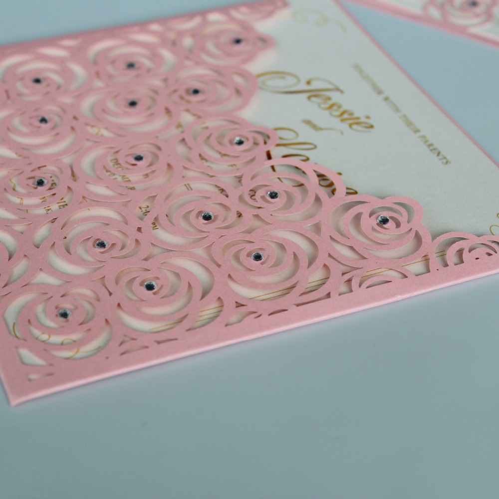 Rose Invitation Cards