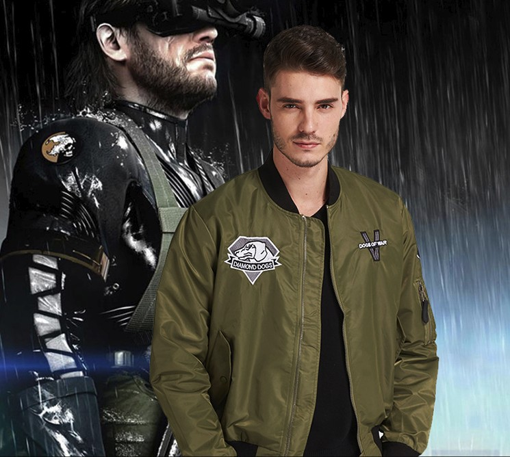 METAL GEAR SOLID V The Phantom Pain Men's Diamond Dogs Jacket Alloy best gift high quality
