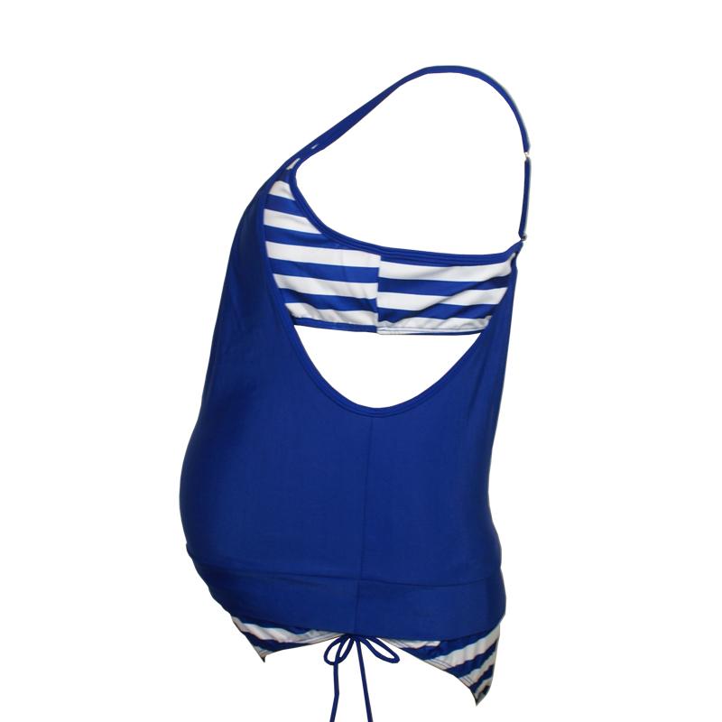 Maternity Swimwear Blue 002