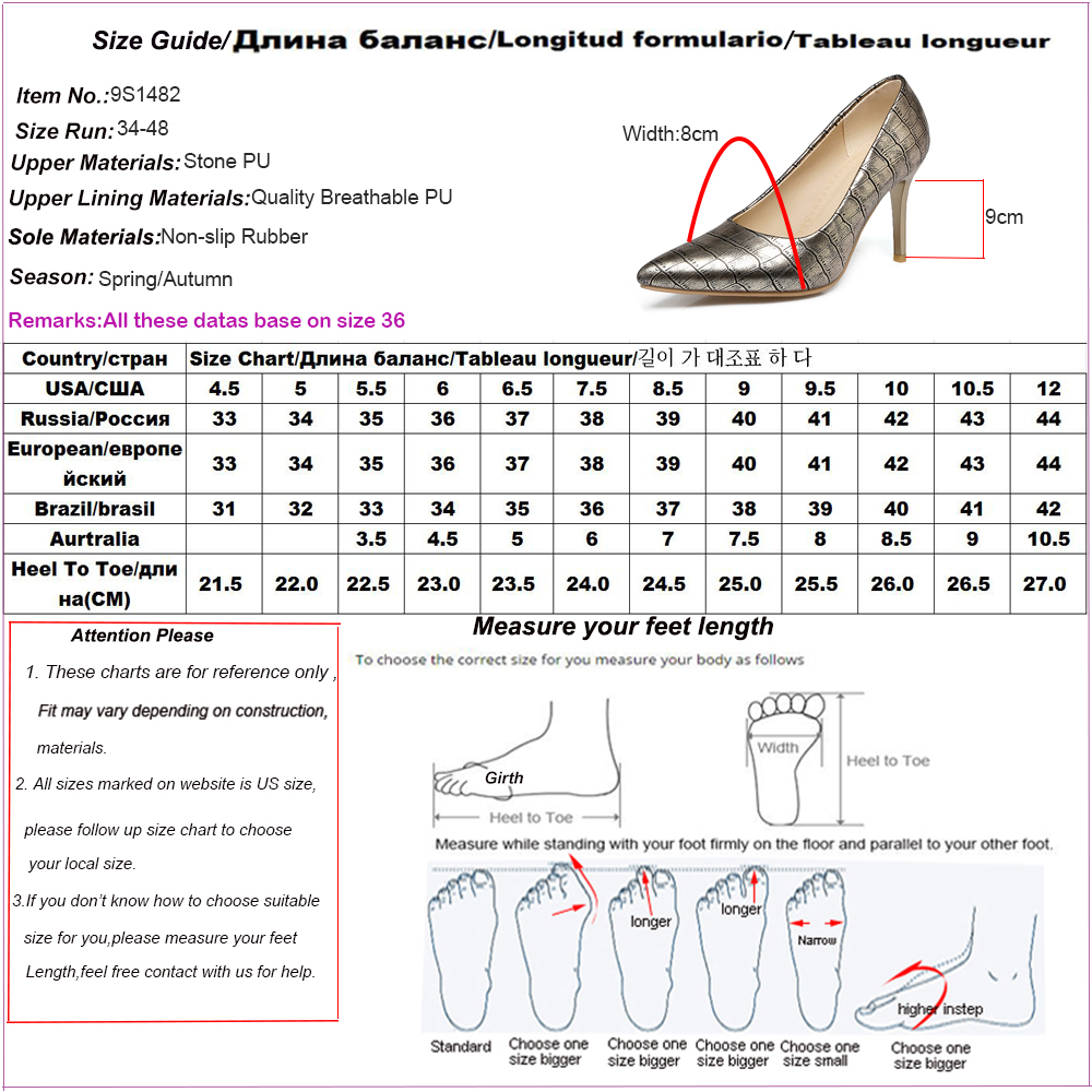 women shoes size New