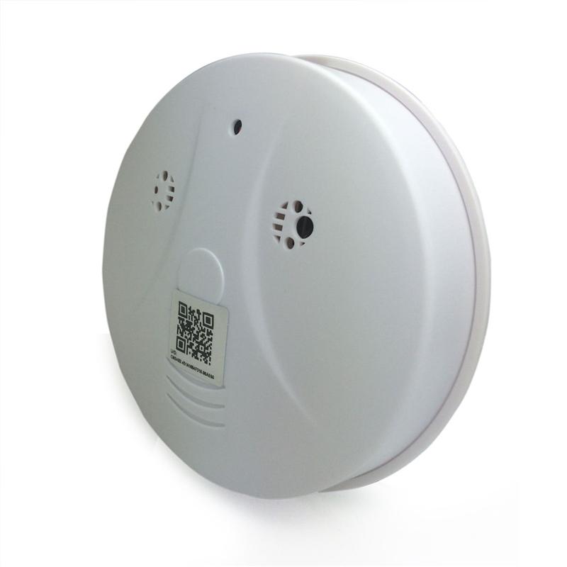 Wifi HD 1080P Mini Camera Smoke Detector P2P twoVideo Recorder Wireless Home Security Surveillance Camcorder Mini DV DVR Support APP View