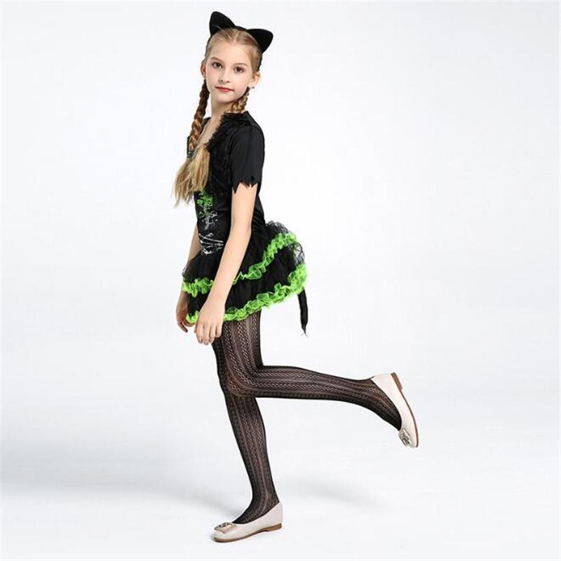 Ladies Girls Boys 3d Plush Pumpkin Black Cat Halloween Fancy Dress Costume Hat