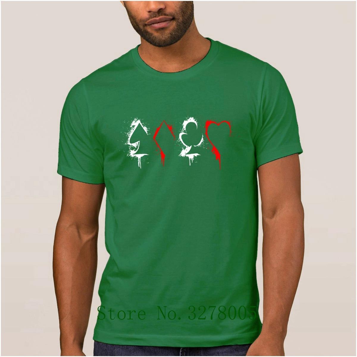 Design and Order Letters Nouveau T Shirt Mens Poker Shirt T-Shirt pour hommes populaires Summer Style Grandes tailles Gents Tee Shirts Vente chaude