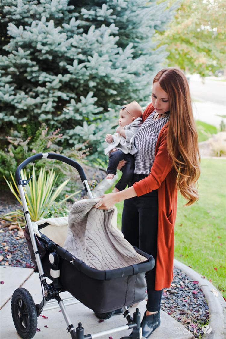 Bebé mantas de punto hechas a mano sacos de dormir de invierno Wraps foto Swaddling Nursery ropa de cama carrito carrito Swaddle batas T1I1000