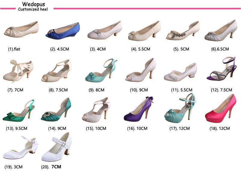 Wedopus heel