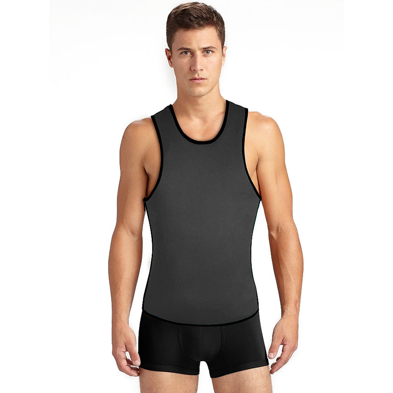 Neoprene Vest Men Speed Sweat Clothes Second Corset For Men Sbdomen Gynecomastia Slimming Belt Burning Men Tank Top Bodybuilding (3)