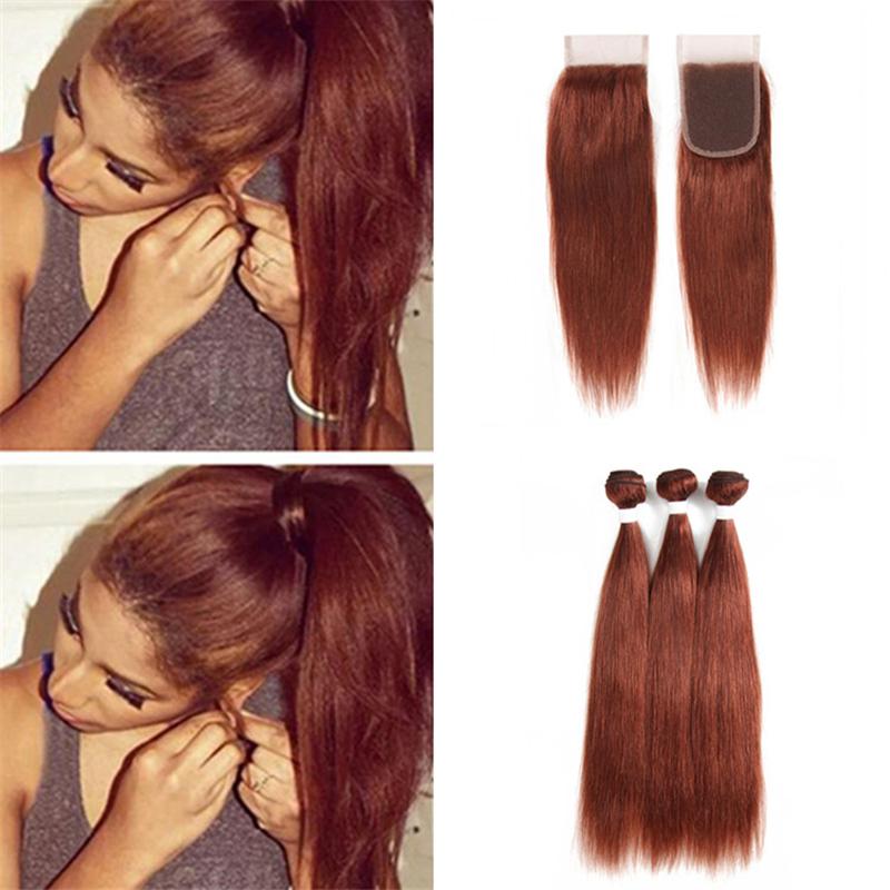 kupfer braune haare