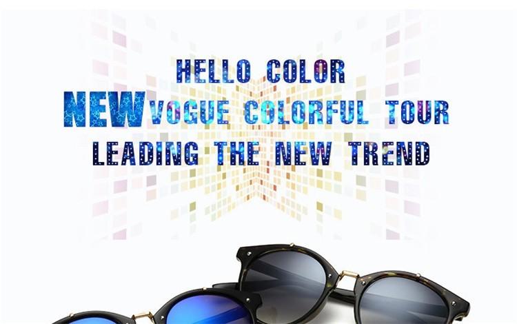 2016 Classic Brand Designer Sunglasses Women Men Retro Round Sun Glasses Woman shades Mirror Eyewear Lady Male Female Sunglass (19)