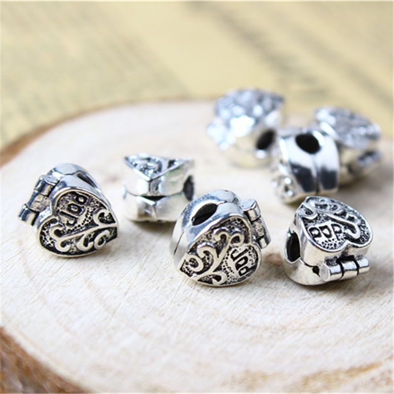 GraceAngie Brand Mixed Antique Silve Alloy Engraved Words Pendant Charms Crafts Jewelry 40pcs