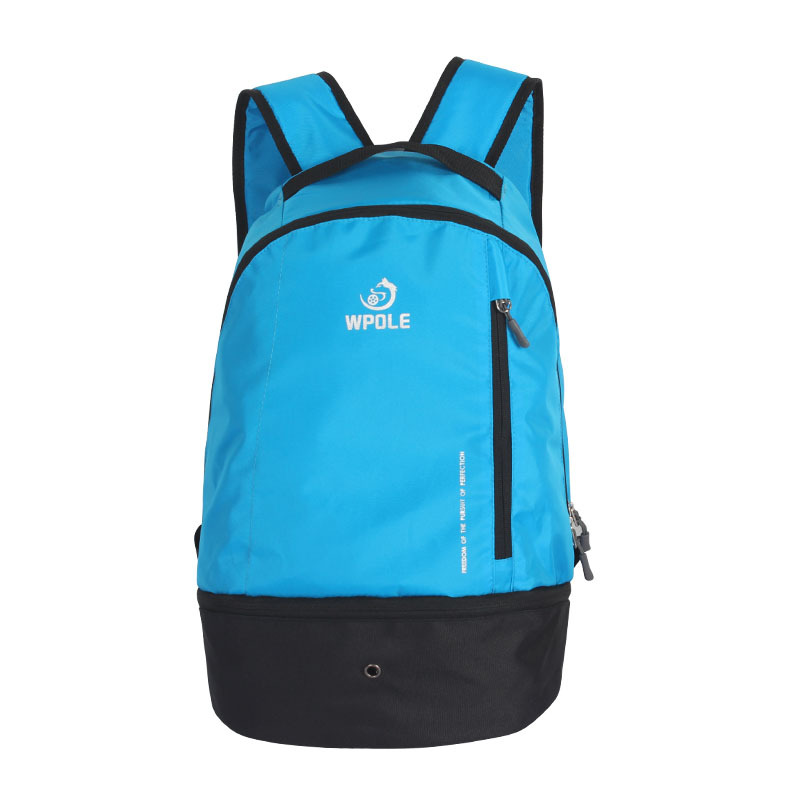 2018 New outdoor sports backpack multi-functional basketball backpack for men's and women's travel