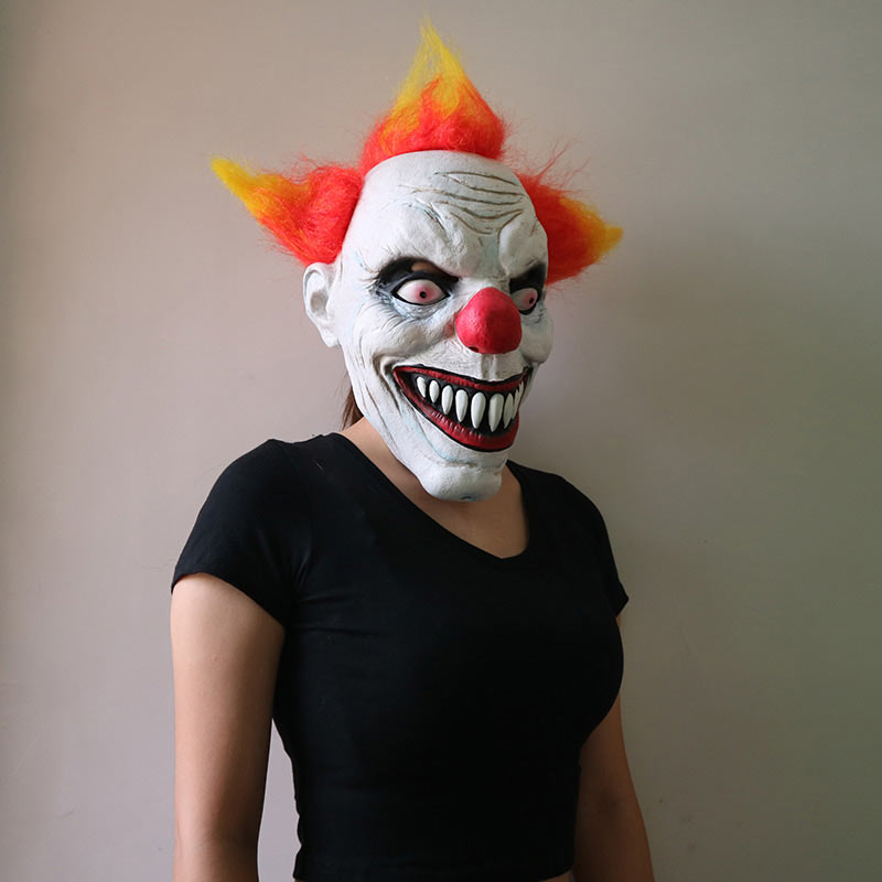 Halloween Mask Party Full Face Masks Adult Ghost Mask Killer Clown Scary Creepy Horror Terror Masquerade Cosplay Mischief Mask (3)