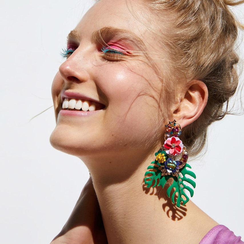 JUJIA-2018-Fashion-Jewelry-Leaves-Drop-Earrings-For-Women-Multicolored-Dangle-Earrings-Accessories-Brincos.