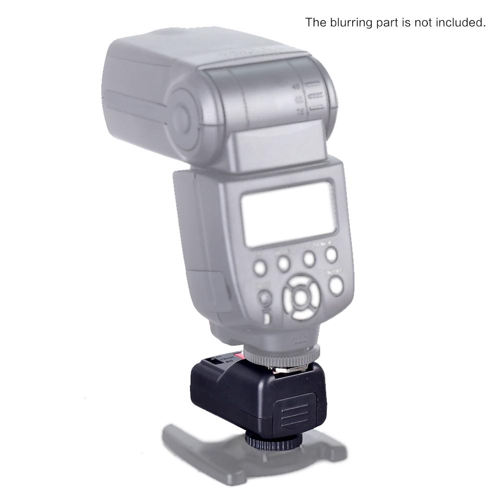 venta al por mayor PT-04GY Activador de Flash Remoto Inalámbrico de 4 Canales para Canon Nikon Pentax Olympus con Universal 1 Transmisor2 Receptores