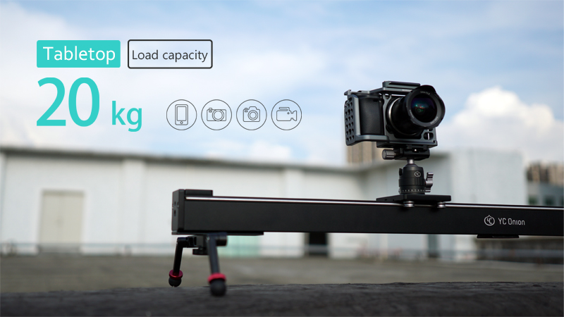 YC ONION Aluminum Motorized Camer Slider App Bluetooth Control Stable Smooth Slider Camera With Motor For Photography DSLR Video (13)