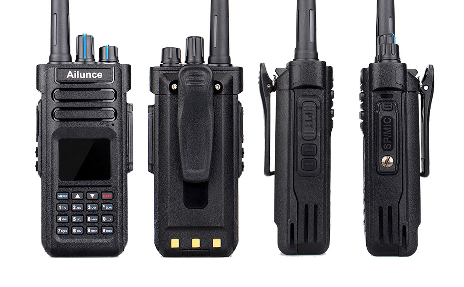 Retevis Ailunce Hd1 Dmr Dual Band Digital Two Way Walkie Talkie 10w Ip67  Gps Vhf Uhf Ham Radio Amador Hf Transceiver Walkietalkies Barbie Walkie