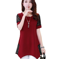 Mother-clothing-summer-short-sleeve-T-shirt-the-middle-age-plus-size-top-female-fashion-loose.jpg_200x200