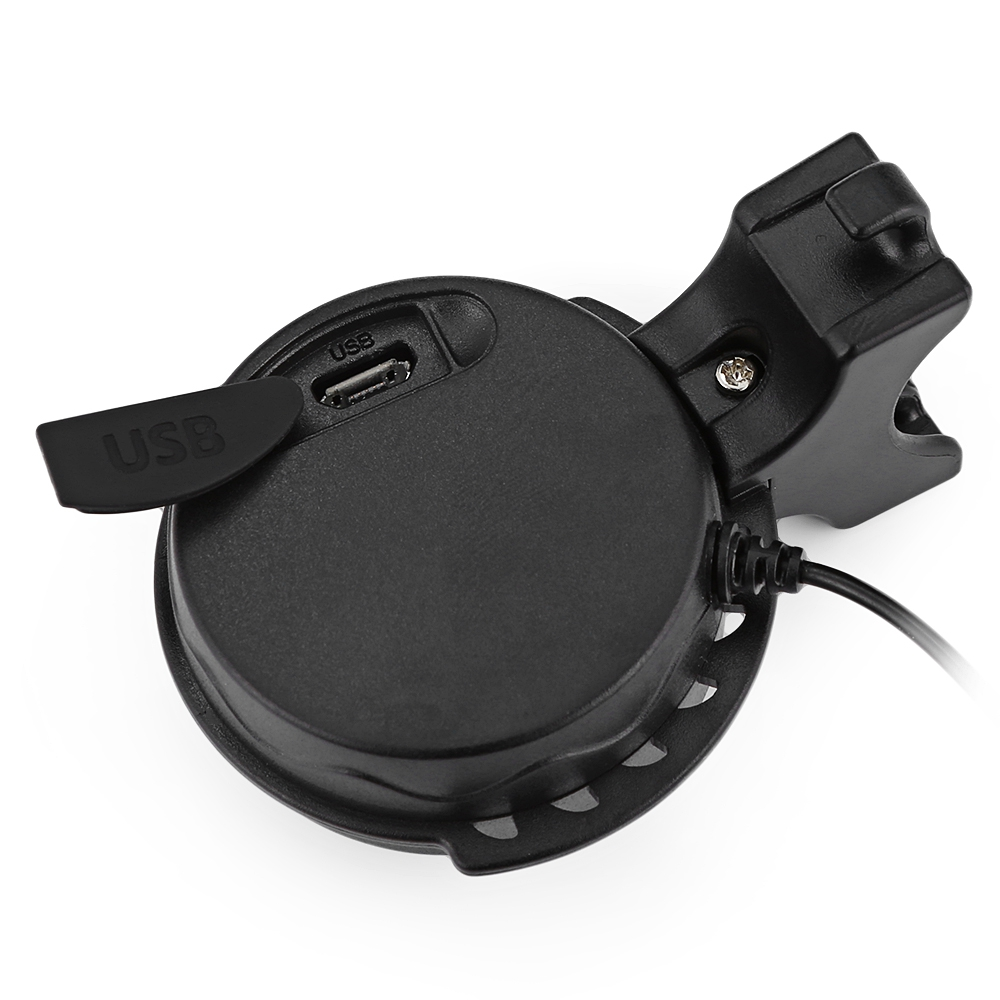 Mini Electric Bike Horn Bicycle Bell Rechargeable WaterproofLoud Volume 120db